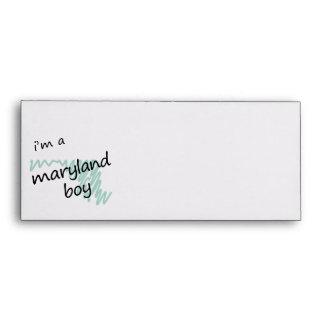 I m a Maryland Boy Envelopes