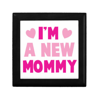 I m a NEW MOMMY Jewelry Boxes