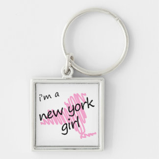 I m a New York Girl Keychain