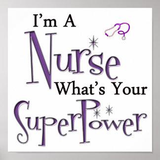 I m A Nurse Print