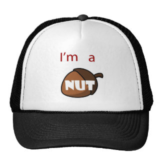 I m A Nut Mesh Hats