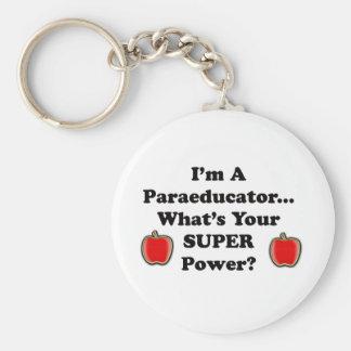I m a Paraeducator Key Chain