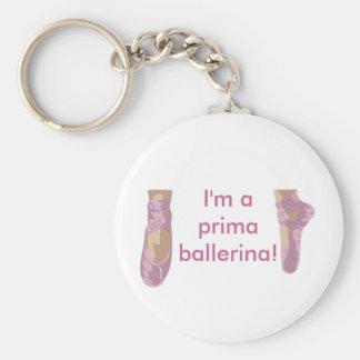 I m a prima ballerina key chains