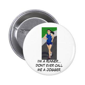 I m a runner button