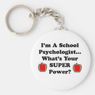 I m a School Psychologist Key Chains