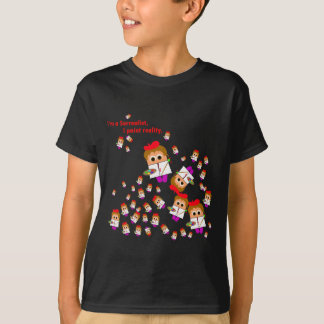 """I�m a Surrealist"" Artist Kids Dark T-Shirt"