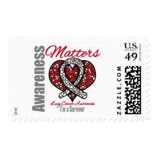 I m A Survivor - Lung Cancer Awareness Matters Stamps