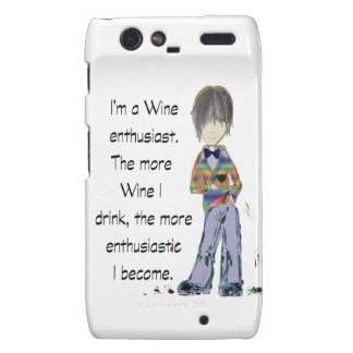 I m a Wine enthusiast Motorola Droid RAZR Covers