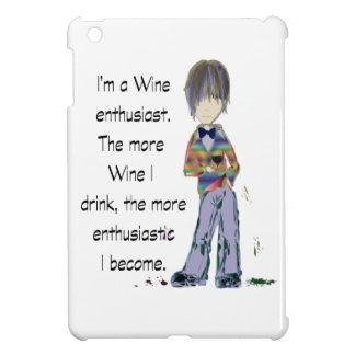 I m a Wine enthusiast iPad Mini Cover