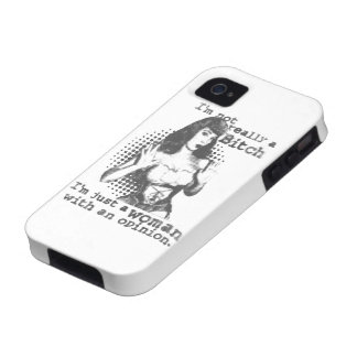 I m a Woman With an Opinion iPhone4 Case