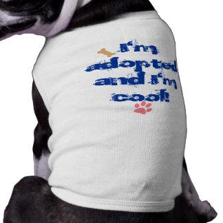 I m adopted dog clothing