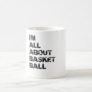 I m All About Basketball Coffee Mugs