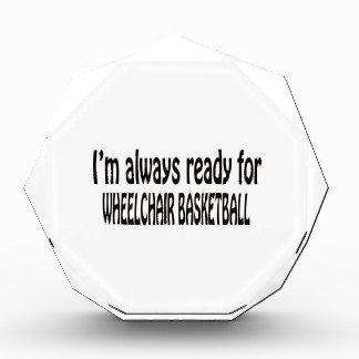 I m always ready for Wheelchair basketball Award