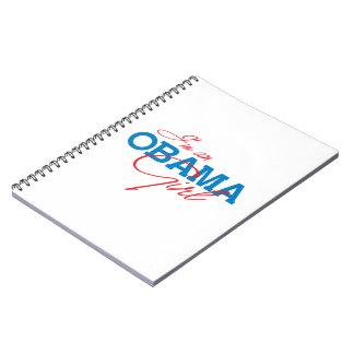 I m an Obama Girl Notebook