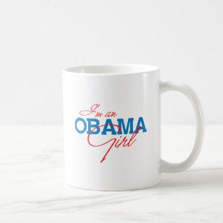 I M AN OBAMA GIRL - png Coffee Mug
