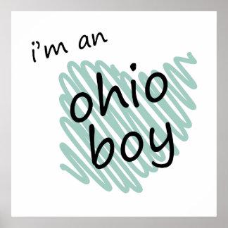 I m an Ohio Boy Poster