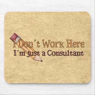 I´m apenas un consultor mousepad