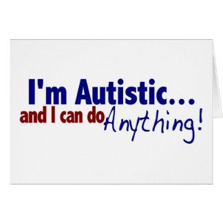 I m Autistic Cards