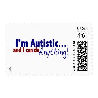 I m Autistic Stamp
