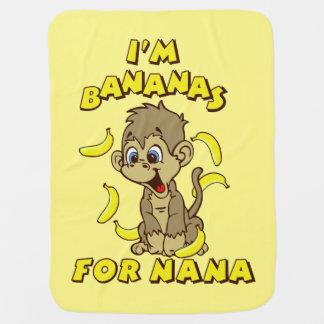 I'm Bananas For Nana Stroller Blanket
