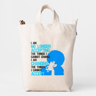 I'm Changing Things Canvas Bag
