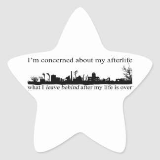 I'm concerned about my afterlife star sticker