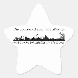 I'm concerned about my afterlife star sticker