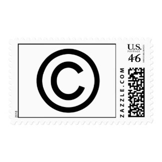 I m Copyrighted Postage Stamps
