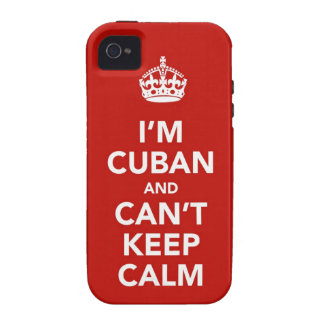 I m Cuban and I can t Keep Calm iPhone 4/4S Cases