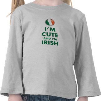 I'M CUTE AND I'M IRISH TEES