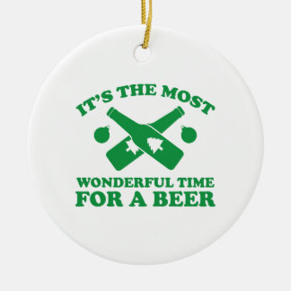 I'm Dreaming Of A Drunk Christmas Ornament