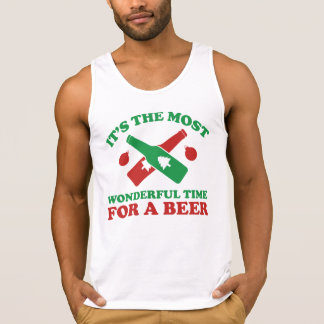 I'm Dreaming Of A Drunk Christmas Tank Top