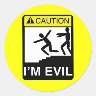 I m Evil Sticker