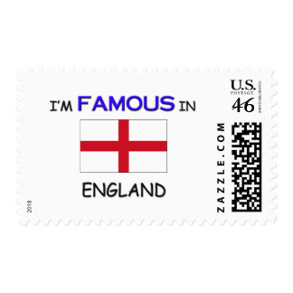 I m Famous In ENGLAND Postage Stamps