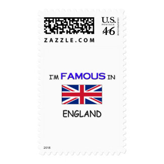 I m Famous In ENGLAND Stamps
