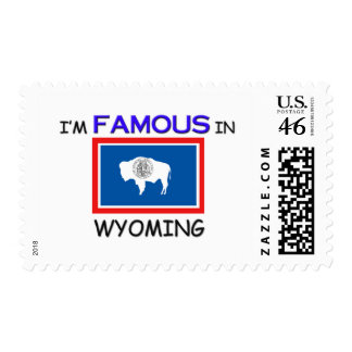 I m Famous In WYOMING Postage