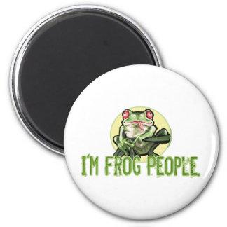 I m Frog People Magnet
