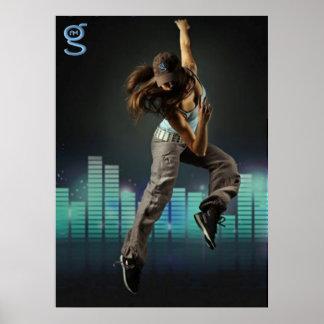 I m G Clothing - Dance Poster