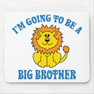 I m Going To Be A Big Brother Mousepads