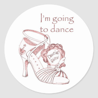 I m going to dance round stickers
