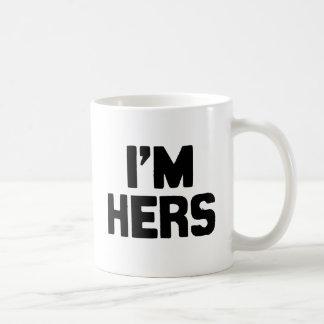 I M HERS COFFEE MUGS