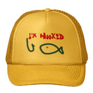 I m hooked trucker hat