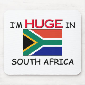 I m HUGE In SOUTH AFRICA Mouse Mats