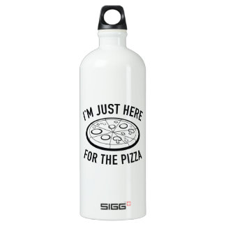 I'm Just Here For The Pizza Water Bottle