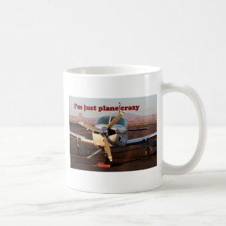 I m Just Plane Crazy Aircraft Page Arizona USA Coffee Mug