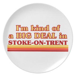 I´m kind of a big deal in Stoke-on-Trent Melamine Plate