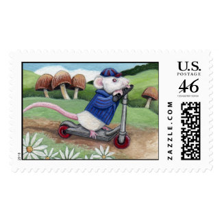 I m Late - Mouse Postage