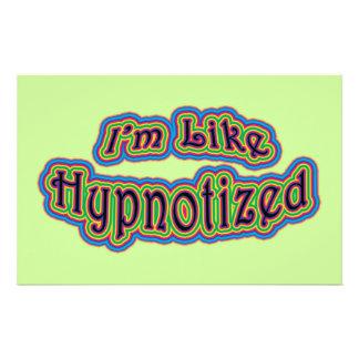 I m Like Hypnotized Stationery Paper