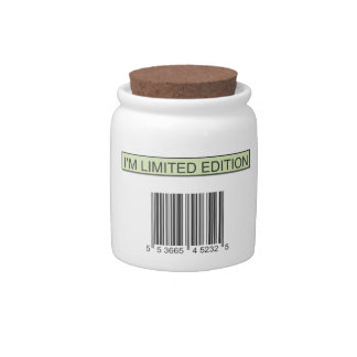 I m Limited Edition Candy Jars