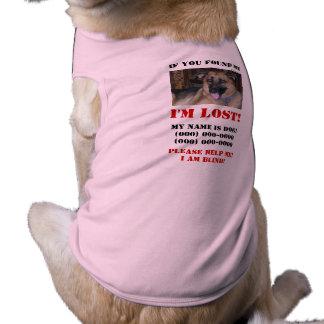 I m Lost Blind Dog Dog Clothing